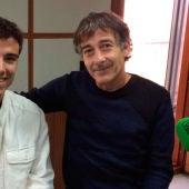 Alfonso Magaña y su hijo Alfonso