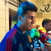 Rodrigo Hernández, centrocampista de la Selección.