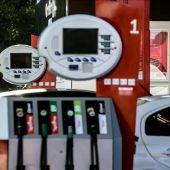 Imagen de archivo de una gasolinera