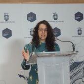Sara Martínez, portavoz del equipo de Gobierno del Ayuntamiento de C.Real