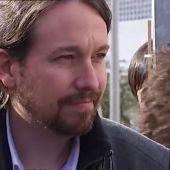"""Pablo Iglesias pide """"salvar la naval de Sestao y no colaborar con dictaduras sanguinarias"""""""