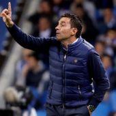 El entrenador de la Real Sociedad, Asier Garitano.