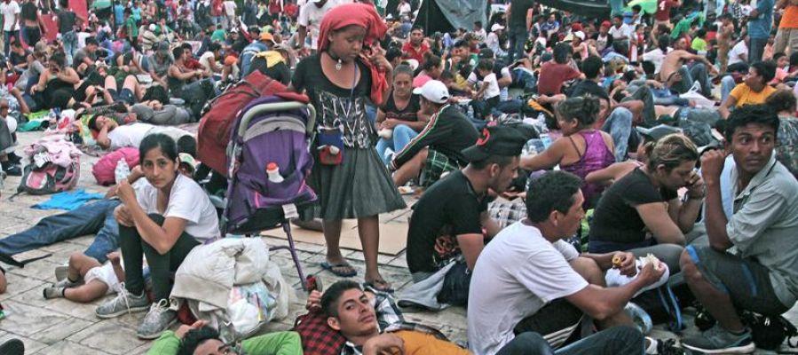 Caravana hondureña