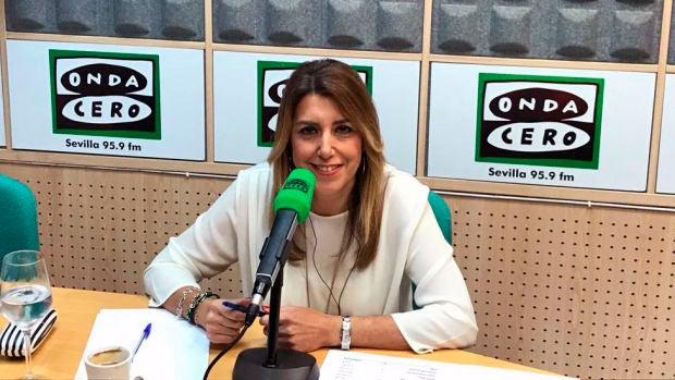 """Susana Díaz: """"Mi unidad de medida es Naciones Unidas y de momento no ha dicho que no se pueda vender armas a Arabia Saudí"""""""