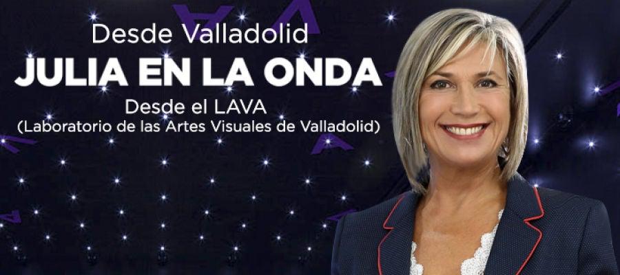 Julia en la onda desde Valladolid