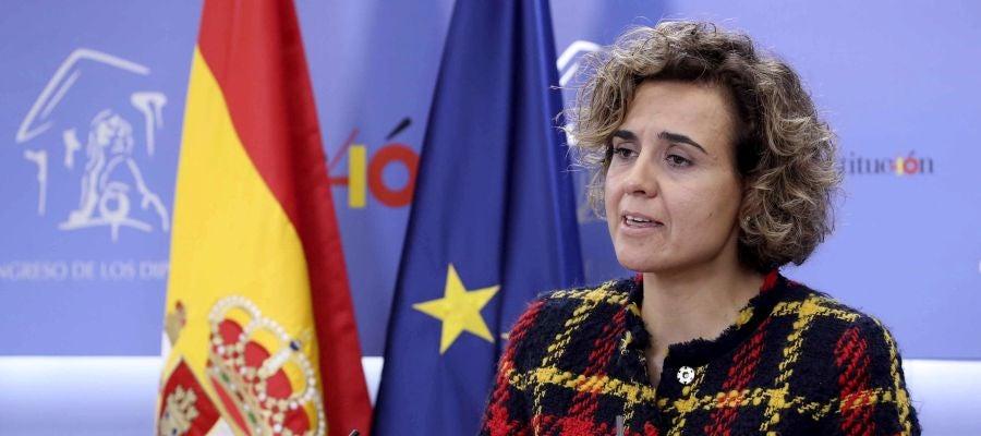 La portavoz del PP, Dolors Montserrat