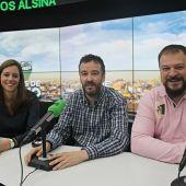 Esther Holgado, Jesús de la Fuente Valero y Alfonso Fernández Romera