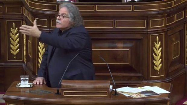 """Tardá a Rivera en el Cogreso: """"Cada vez que nos llame golpistas, nosotros le llamaremos fascista"""""""