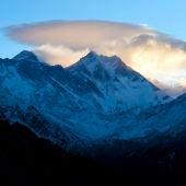 Vista de las cordilleras del Himalaya