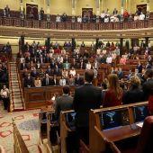 Minuto de silencio en el Congreso en homenaje a Carmen Alborch
