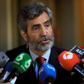El presidente del Tribunal Supremo, Carlos Lesmes