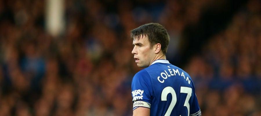 Coleman, con el Everton