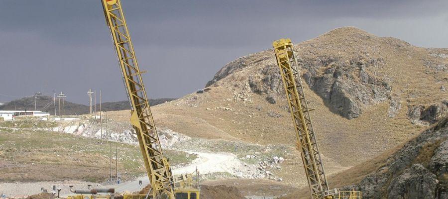Una explotación minera de fosfatos