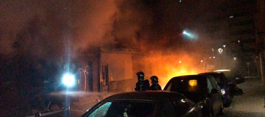 Incendio en Torrejón de Ardoz