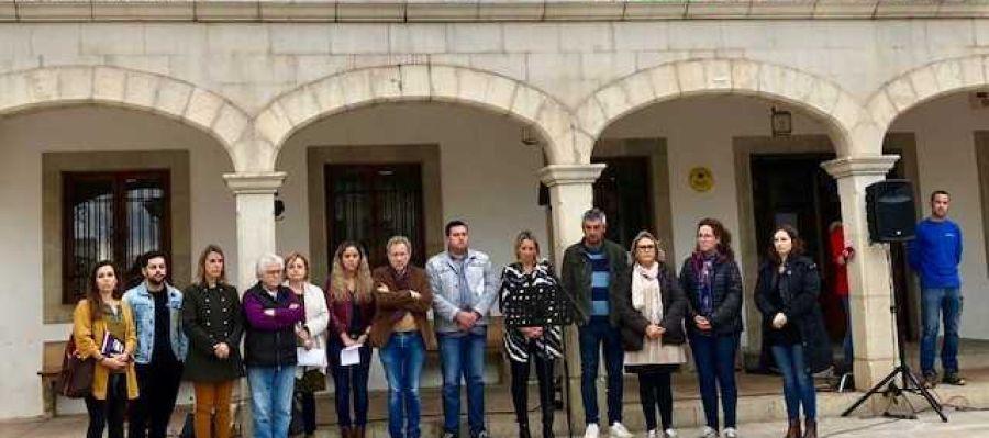 Minuto de silencio en Sant Llorenç un mes después de la tragedia