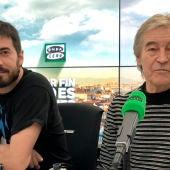 Luis Mendo, del grupo Suburbano y Miki Aute