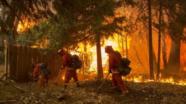 """Rosa Gamazo, residente en California: """"He vivido terremotos, pero estos incendios son horroroso"""""""