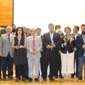 Premiados y miembros del jurado de la V Gala 'Ilicitanos en la Onda' 2017.