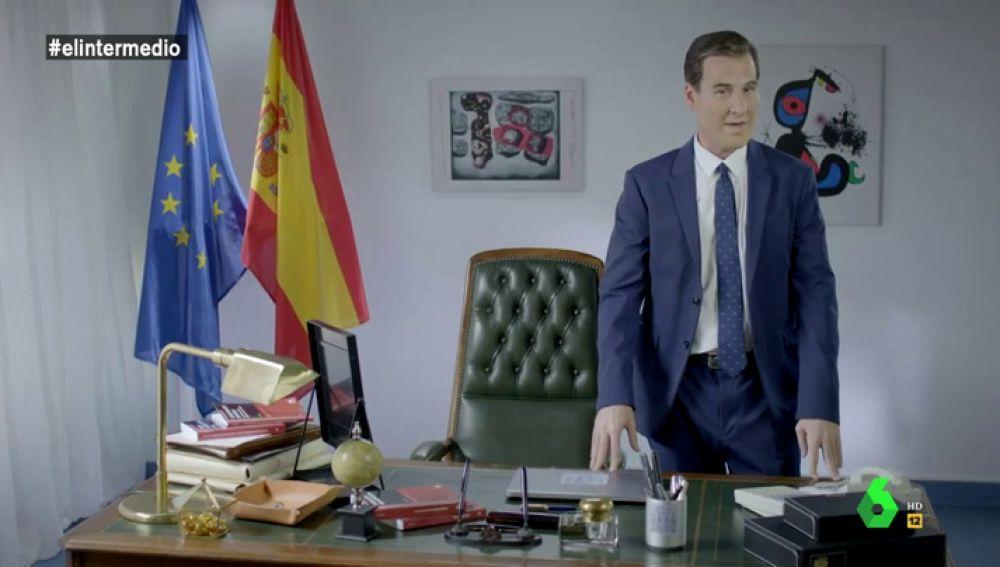 Joaquin Reyes es Pedro Sánchez