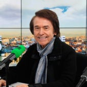 Raphael durante una entrevista en Onda Cero