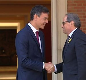 Así de 'buena' era la relación entre Sánchez y Torra en los primeros días del nuevo Gobierno