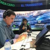 Jorge Martín en El Transistor con José Ramón de La Morena