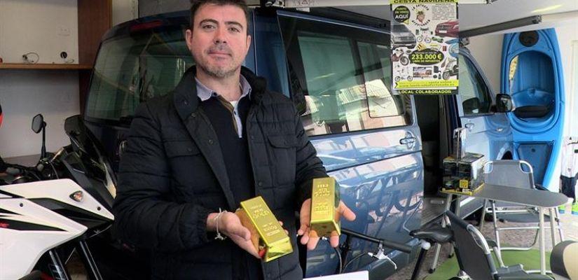 El empresario de Castellón que sortea la cesta de Navidad valorada en 233.000 euros libres de impuestos.