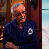 Stan Lee y Carlos Alsina