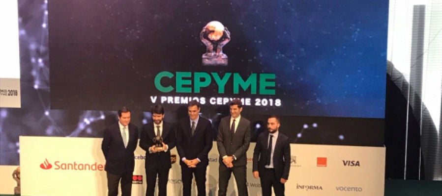 La empresa Zeus Smart Visual Data, Premio CEPYME 2018 «Transformación Digital»