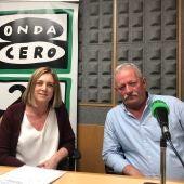 Elisa Fernández de Valderrama y Josu Goñi
