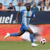 Koné, jugador del Málaga CF