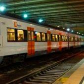 Imagen de un tren de Rodalies
