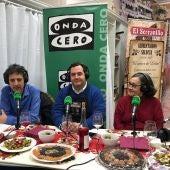 León en la Onda en El Serranillo con Juan Dopico y Rosa Dopico.