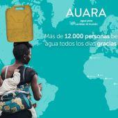 Auara lleva agua potable a países en desarrollo