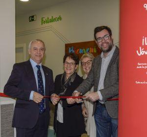 Pedro Puig, Director de Aldeas Infantiles, en la inauguración del centro en Son Gotleu