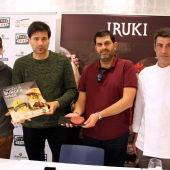 Miguel Arrillaga premio de la mejor hamburguesa de Gipuzkoa