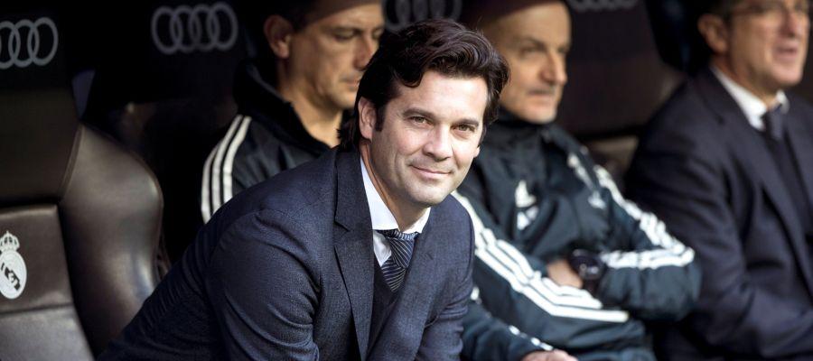 El entrenador del Real Madrid, Santiago Hernán Solari.
