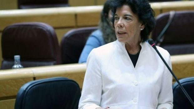"""El lapsus de Isabel Celaá: """"La ley busca destrozar el sistema educativo"""""""