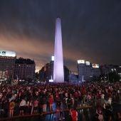 El Obelisco, en Buenos Aires