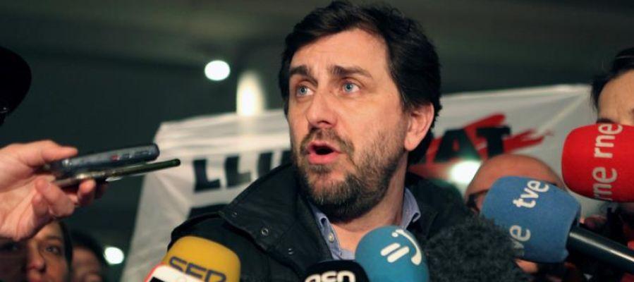 El exconseller del Gobierno catalán, Toni Comín