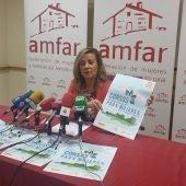 Lola Merino ha presentado los cursos formativos on-line de AMFAR