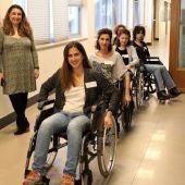 Profesionales de Atresmedia se ponen en la piel de personas con discapacidad