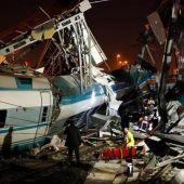 Accidente de tren en Ankara