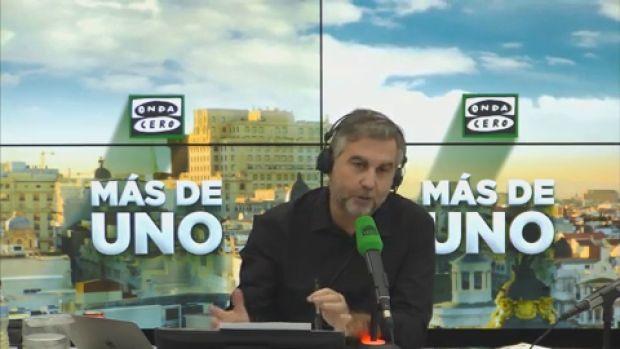 """El monólogo de Alsina: """"Este intento de Sánchez de levantar un proyecto sobre los escombros de Rajoy ha llegado hasta aquí"""""""