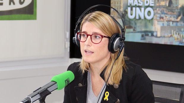 """Elsa Artadi: """"Nosotros no nos sentimos en deuda con Sánchez, ya lo hicimos presidente"""""""