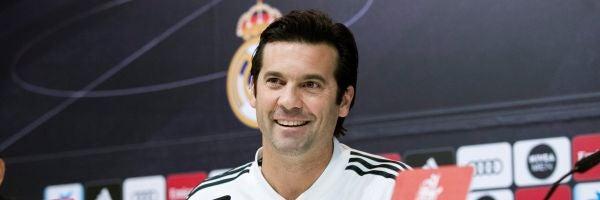 Solari, entrenador del Real Madrid