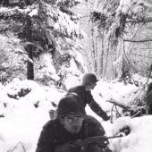 Soldados en la nieve