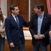 -Los equipos negociadores del Partido Popular y Ciudadanos