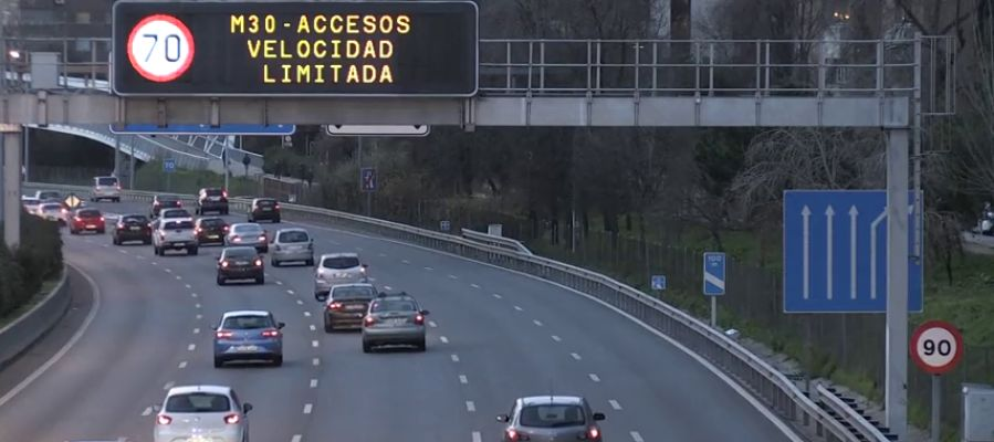 Protocolo de contaminación en Madrid