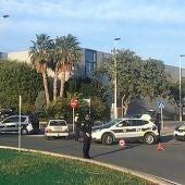 Control de la Policía Local de Elche